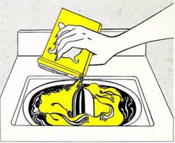 Washing Machine, Roy Lichtenstein, 1961.