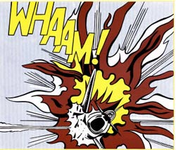 Whaam, obra de Roy Lichtenstein.