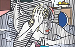 Thinking Nude, obra de Roy Lichtenstein.